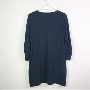 Lacoste Dresses - Lacoste Sweater Dress W/ Sequin Pockets